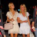 Paris Hilton & Nicky Hilton, Head To Shag Night Club