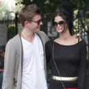 Xavier Samuel and Shermine Shahrivar in SoHo