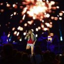 Carrie Underwood Performing At Lavell Edwards Stadium