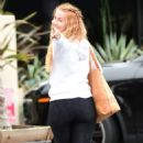 Julianne Hough in Tights out in Los Angeles - 454 x 771