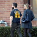 Mia Goth and Shia LaBeouf – Out in Los Feliz
