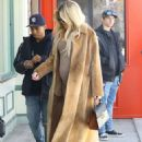 Khloe Kardashian in Long Coat – Arrives at a A Baby Shop in Los Angeles