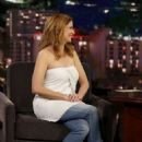 Jenna Fischer at Jimmy Kimmel Live! in Los Angeles - 454 x 681