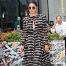 Priyanka Chopra – Arriving at the Longchamp Fashion Show in NY