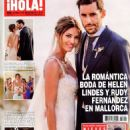 Rudy Fernandez, Helen Lindes - Hola! Magazine Cover [Spain] (15 July 2015)