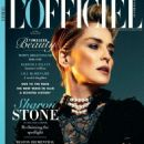 Sharon Stone Lofficiel Australia Magazine February 2015