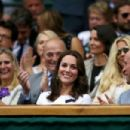 Prince William and Duchess Catherine at Wimbledon 2017 - 454 x 303