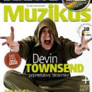 Devin Townsend - Muzikus Magazine Cover [Czech Republic] (June 2011)