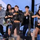 "Miley Cyrus Performs On ABC's ""Good Morning America"" - June 18, 2010"