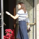 Jennifer Garner – Arrives to Sunday church service in Brentwood