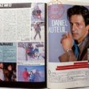 Daniel Auteuil - L'Hebdo Cinema Magazine Pictorial [France] (23 January 1985) - 454 x 330