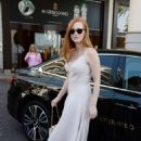 Jessica Chastain Leaves the Martinez Hotel in Cannes