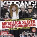 Dave Mustaine - Kerrang Magazine Cover [United Kingdom] (3 July 2010)