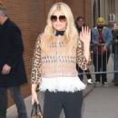 Jessica Simpson – Arrives at The View in New York