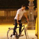 Jamie Dornan  film a scene for Fifty Shades Freed  (July 20, 2016) - 454 x 546