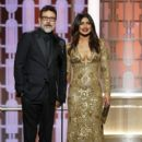 Priyanka Chopra  : 74th Annual Golden Globe Awards - Press Room  Show - 400 x 600
