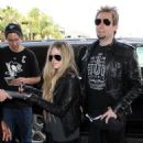 Avril and Chad at Los Angeles Airport (May 15, 2013)