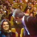 Francois Truffaut and Fanny Ardant