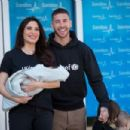 Pilar Rubio And Sergio Ramos Present Their New Born Child in Madrid - 454 x 303