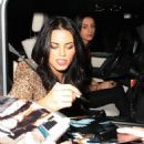 Jenna Dewan leaving Us Weekly's Hot Hollywood Event on Nov 18, 2010
