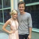 Olivia Holt and Luke Benward