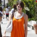 Ashley Greene - The Ivy Restaurant In Santa Monica - July 28, 2009