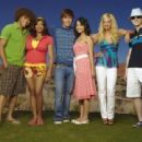 Lucas Grabeel and the hsm gang