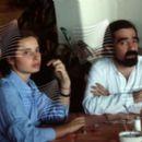 Isabella Rossellini and Martin Scorsese