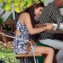 Nina Dobrev Goes Shopping And Gets Some Lunch In West Hollywood - 284 x 366