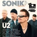 Larry Mullen Jr., The Edge, Adam Clayton, Bono, U2 - Sonik Magazine Cover [Greece] (December 2014)