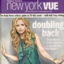 Sarah Michelle Gellar - New York VUE Magazine Cover [United States] (11 September 2011)