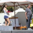 Jennifer Flavin – On the beach in Malibu