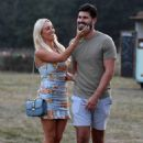 Amber Turner – On the set for 'The Only Way is Essex' TV show in Essex