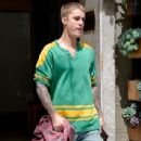 Justin Bieber was spotted out and about in Los Angeles, California on May 20, 2016
