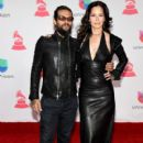 Draco Rosa and Angela Alvarado- The 17th Annual Latin Grammy Awards- Red Carpet - 400 x 600