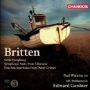 Benjamin Britten Album - Cello Symphony / Symphonic Suite from 'Gloriana' / Four Sea Interludes from 'Peter Grimes' (BBC Philharmonic Orchestra feat. conductor: Edward Gardner)