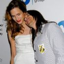 Anthony Kiedis and Heather Christie