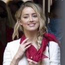 Amber Heard – Pictured while arriving at Royal Courts of Justice in London