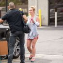 Britney Spears Leaves A Gym In Thousand Oaks