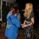 Mischa Barton - At The She And Him Concert In LA, 25 March 2010