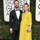 Natalie Portman and Benjamin Millepied : 74th Annual Golden Globe Awards - 408 x 600