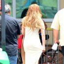 Jennifer Lopez Soundcheck For The Billboard Latin Music Awards In Miami