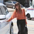 Jessica Biel visiting running a few errands earlier in the day (July 26)