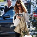 Maria Shriver spends time out and about in Brentwood, California on January 08, 2016 - 387 x 600