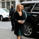 Jennifer Lopez – Arrives at 'Second Act' set in New York
