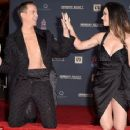 Katy Perry are honored during their hand print ceremony at TCL Chinese Theatre IMAX Forecourt on September 8, 2015 in Hollywood, California