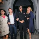 Gene Simmons At Craig's Restaurant In West Hollywood