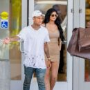 Kylie Jenner Shopping In Woodland Hills