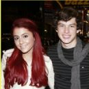 Graham Phillips and Ariana Grande - 454 x 499