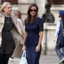 Pippa Middleton: strolled around London